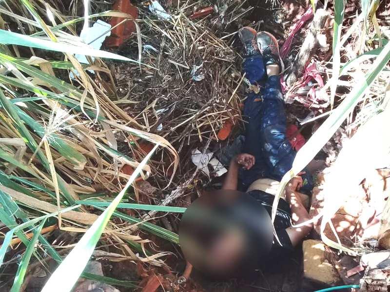 Homem caiu de uma altura de aproximadamente 3 metros | Foto: Bombeiros/Divulgação