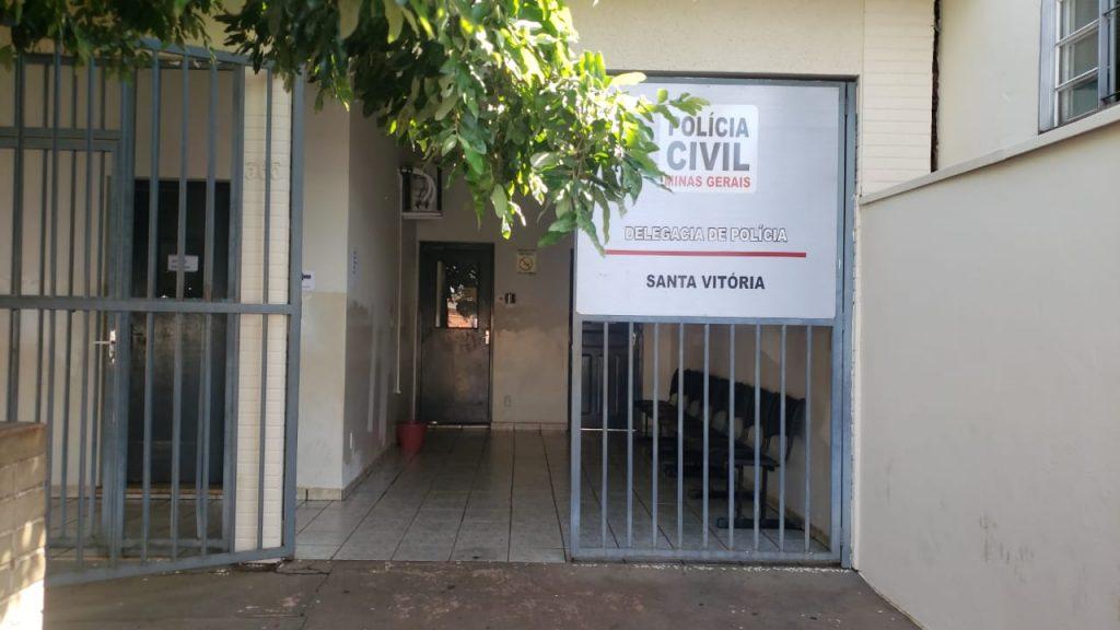 Delegacia da Polícia Civil de Santa Vitória | PCMG/Divulgação