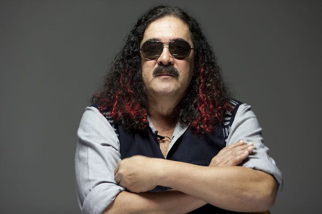 O cantor e compositor Moraes Moreira |Foto: GARAPA COLETIVO MULTIMÍDIA