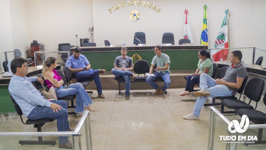 A reunião foi realizada na manhã desta quarta-feira (01.abr.2020) no plenário do Legislativo (Foto: Paulo Braga/Tudo Em Dia)