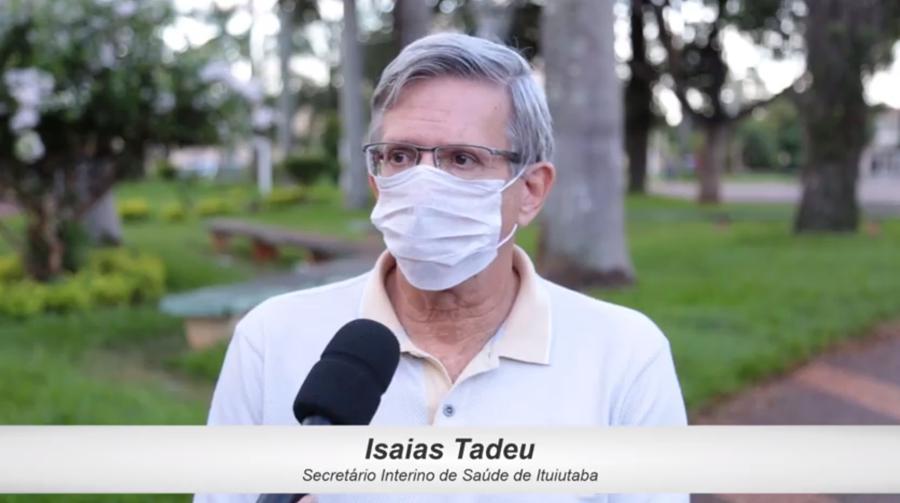 Isaías Tadeu   Foto: Reprodução/Munícipio de Ituiutaba