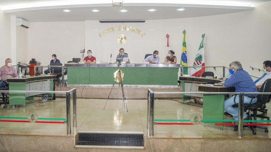 Cobertura do Tudo Em Dia durante a sessão ordinária da Câmara Municipal de Capinópolis | Foto: Paulo Braga/Tudo Em Dia