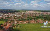 Foto aérea da cidade de Capinópolis, no Triângulo Mineiro, umas das cidades com o clima mais quente da região | Foto: Tudo Em Dia