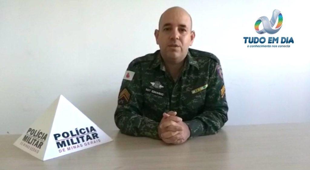 Sargento Eduardo Venâncio, comandante da PMMA | Foto: Arquivo Tudo Em Dia
