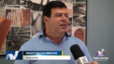 Winston Almeida Drummond | Foto: Gabriel Kazuto