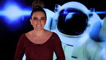A apresentadora Priscila Rangel traz as novidades do setor aeroespacial - Divulgação/TV Brasil