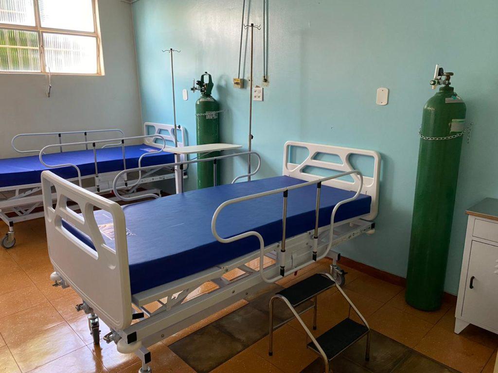 UTI semi-intensiva foi totalmente reformulada com recursos do Ministério Público Estadual | Foto: MPE