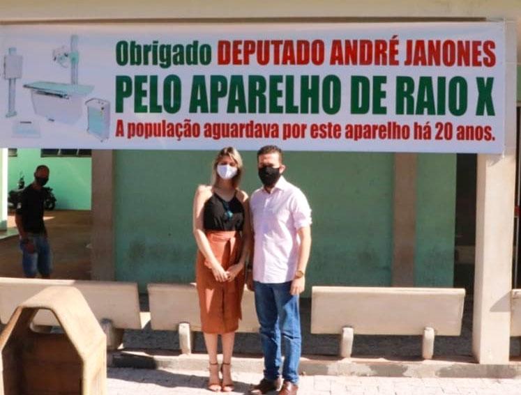 Sandra Barbosa e André Janones | Foto: Divulgação