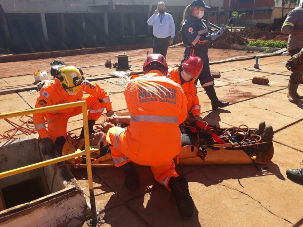 Resgate foi realizado pelos Bombeiros de Ituiutaba | Foto: Bombeiros/Divulgação