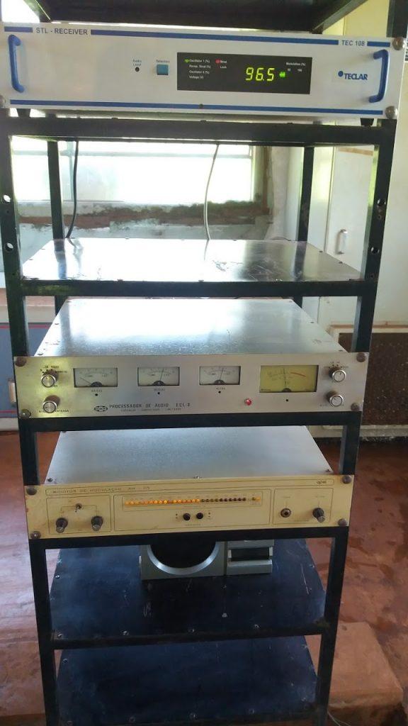 Equipamentos furtados na emissora  |  Foto: 810 AM