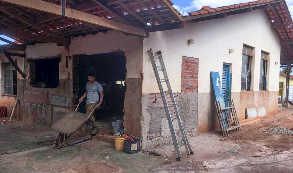 Obras no Catru | Foto: Divulgação
