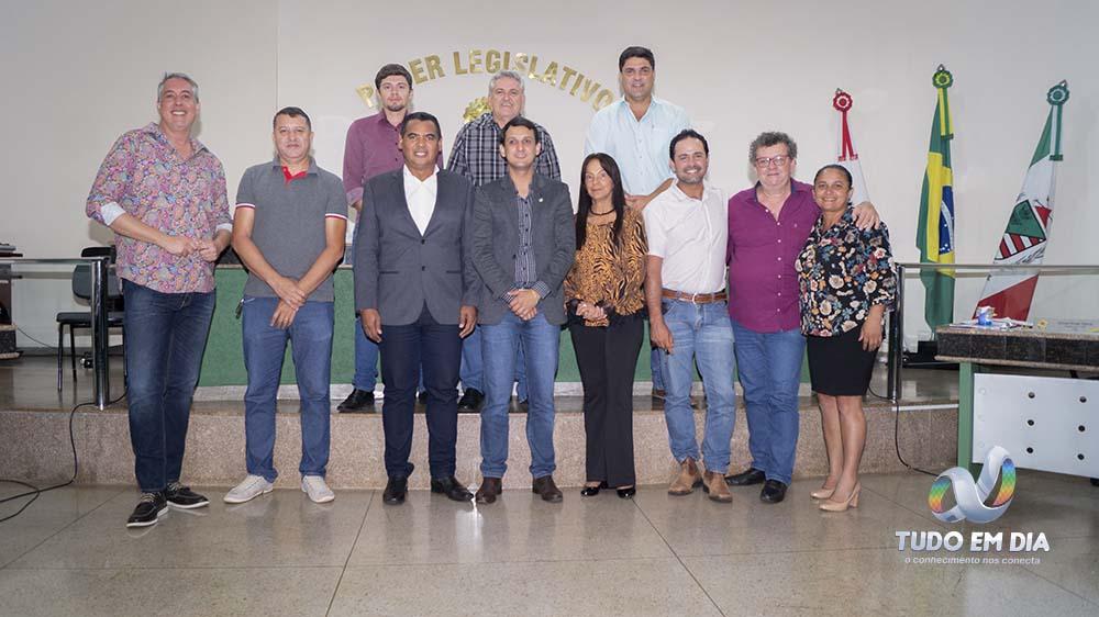 Vereadores da Câmara Municipal de Capinópolis 2017/2020 - Foto: Paulo Braga (Arquivo/Tudo Em Dia)