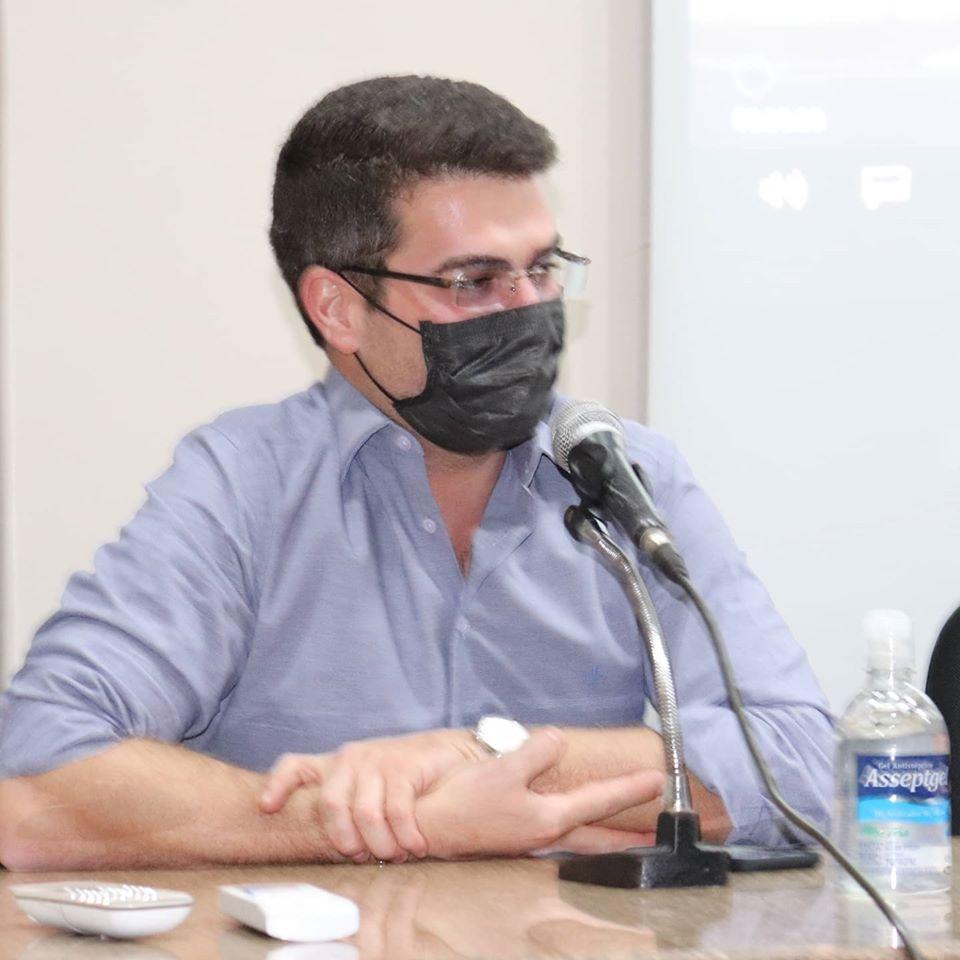 Dr. Thales Andrade | Foto: Renato Mendes/Câmara Municipal de Capinópolis