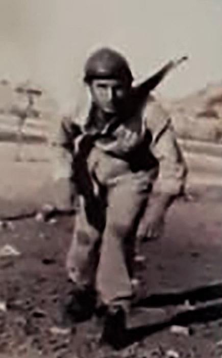 Naouphal Farid serviu ao exército Libanês   Foto: Arquivo pessoal familiar