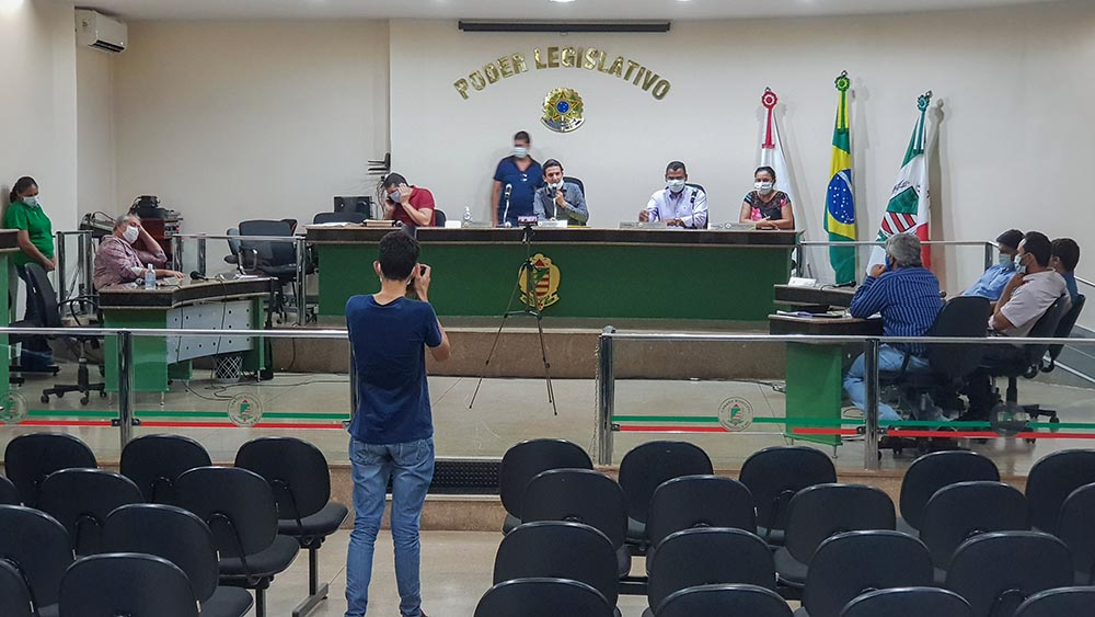 Sessão da Câmara Municipal de Capinópolis | Foto: Arquivo/Tudo Em Dia