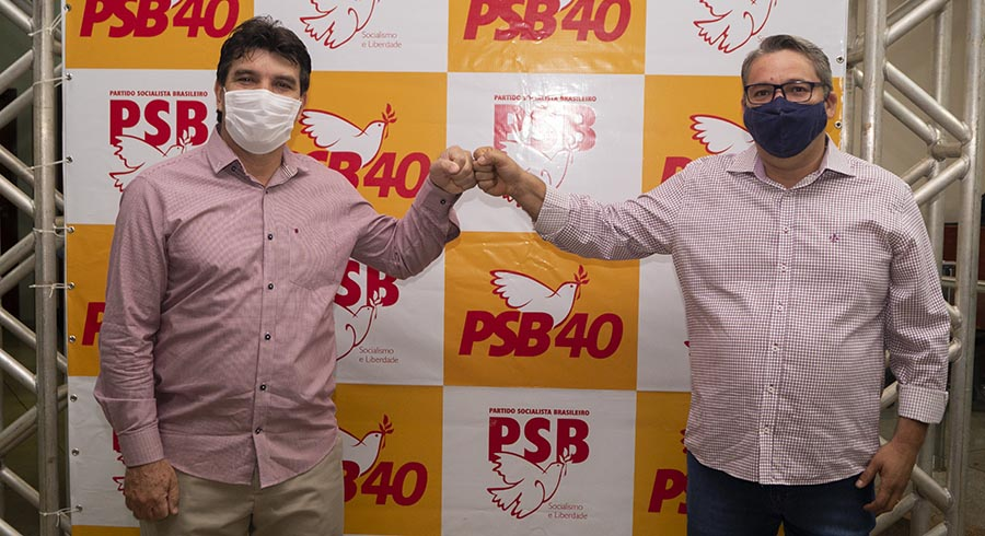 Cleidimar Zanotto e Jaisson Souza | Foto: Daniel Braga