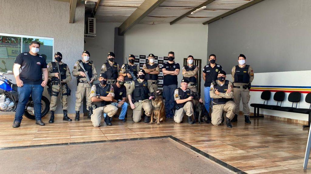 Foto: Polícia Militar de Minas Gerais