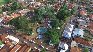 Praça João Moreira de Souza em Capinópolis, Minas Gerais | Foto: Arquivo Tudo Em Dia