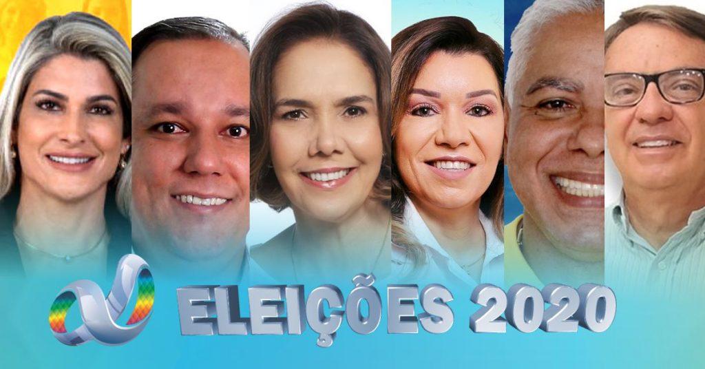 (Esq) Gabriela, Juninho, Cristina, Leandra, Marco Antônio e Luiz | Imagem: Tudo Em Dia