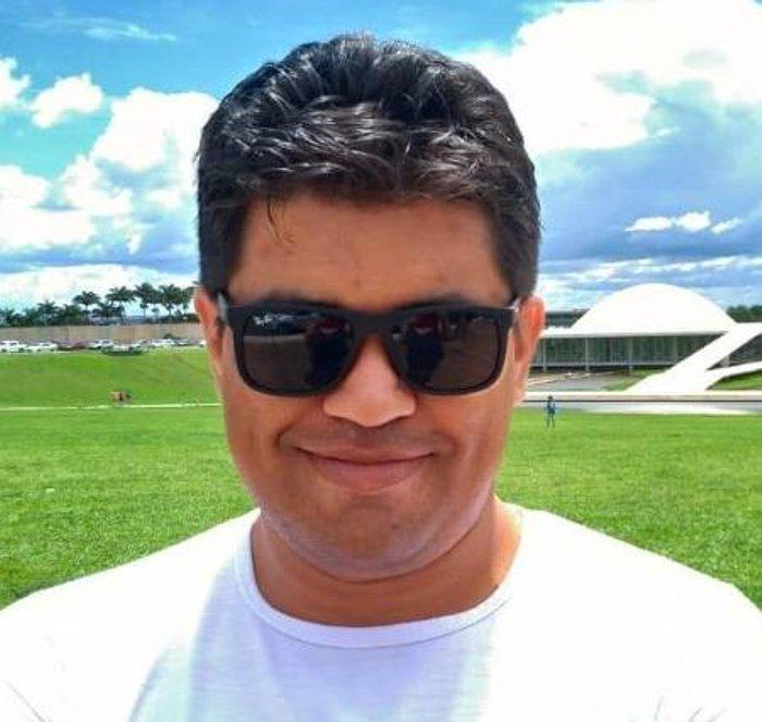 Guilherme Oliveira, o Boca Aberta (PSC-MG), diz ter sido agredido após uso de moto em campanha; partido vai apurar o caso / Imagem: Facebook/Reprodução