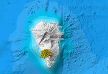 Ilha de La Palma está em alerta por conta de possibilidade de erupção do vulcão Cumbre Vieja (Fonte: Governo de Canárias/Reprodução)