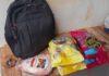 Material furtado no supermercado | Foto: PMMG